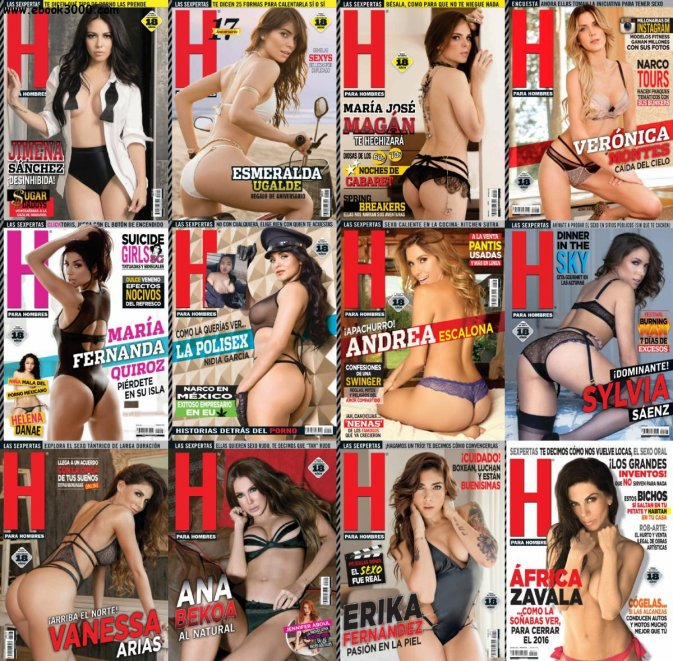 H para Hombres - 2016 Full Year Issues Collection